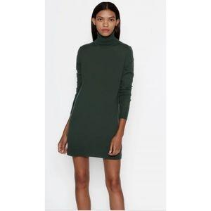 Chaps Evergreen Turtleneck sweater dress
